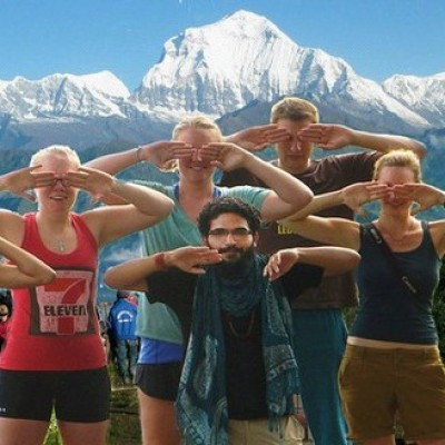 Nagarkot yoga trek in Nepal