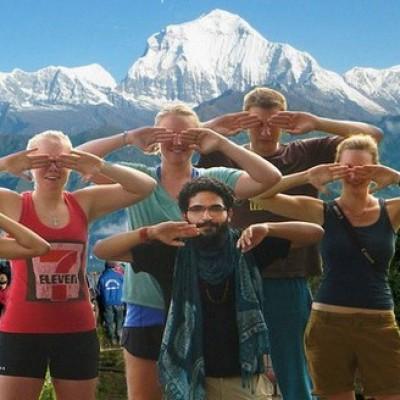 Nagarkot yoga trek in Nepal