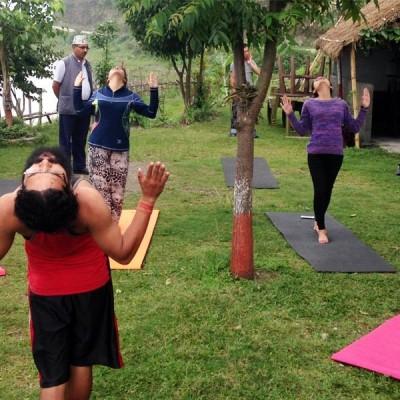Detox yoga in Nepal